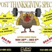 POST THANKSGIVING SPECIAL!