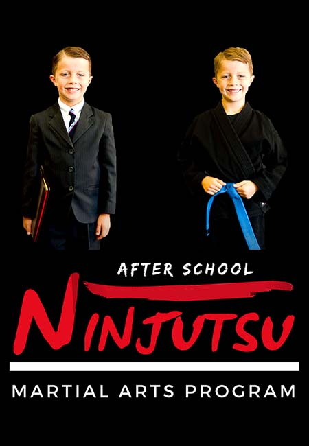 After school martial arts page header