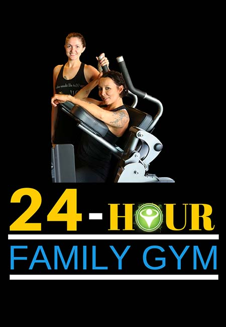 24-Hour family gym page header